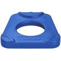 ARTIDISC®-S plastic counter plate, blue